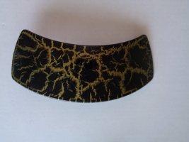 Vintage Hair Clip dark brown-dark yellow