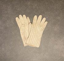 unbekannte Leren handschoenen room