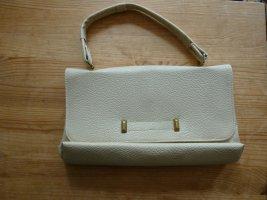 Vintage Handtasche Creme Beige