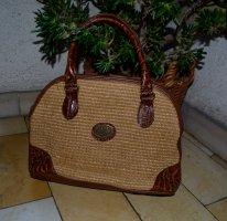 Vintage Handtasche mixed Leather