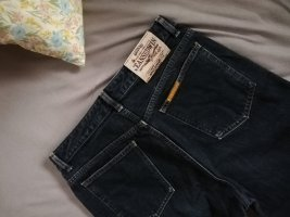 Vintage High-waisted Jeans Straight