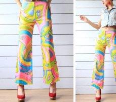 Vintage Hose - Neon Psychodelic - High waist Gr.36/38