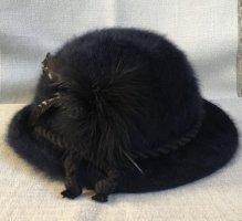 Bowler Hat black-dark blue