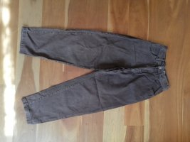 Vintage Hoge taille jeans bruin-bruin-paars