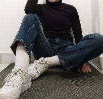 Vintage Jeans,dunkelblue
