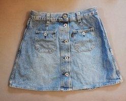 Vintage Spijkerrok azuur