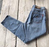 Joop! Hoge taille jeans staalblauw