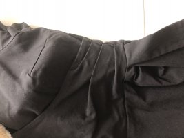 Vintage- Kleid, 40 ger Jahre, schwarz, Stretch, wickeloptik, gr 36