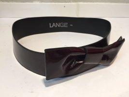 """Vintage Lack-Taillengürtel """"Lange"""""""