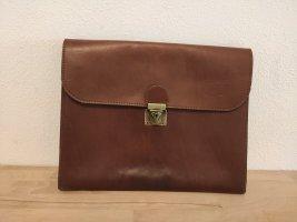 Vintage Leder Clutch Aktentasche