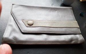 Vintage Lederclutch