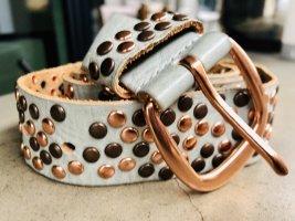 Vintage Leather Belt multicolored