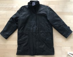 Vintage Lederjacke, Gr. 38/40, schwarz, echtes Leder, super Qualität, NEU