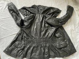 Maze Leather Jacket anthracite leather