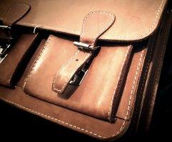 Business Bag light brown-cognac-coloured