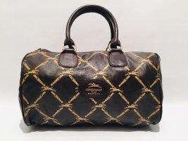 Vintage Longchamp Bowling Bag Monogramm