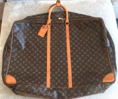 Louis Vuitton Suitcase brown cotton
