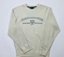 Vintage MCM Sweater | White