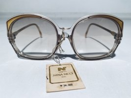Nina ricci Butterfly Glasses gold-colored-white acetate