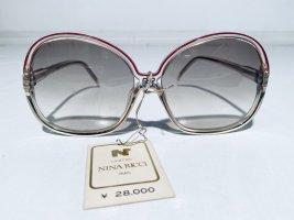 Nina ricci Butterfly Glasses dark red-white acetate