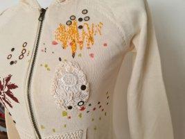 Vintage Only Cardigan Überzieher Zip Sweatshirt Gr. S