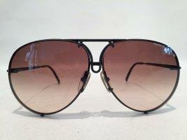 Carrera Pilotenbril zwart Metaal