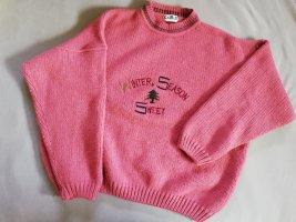 Vintage Pullover Oversized Motiv