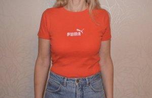 Vintage Puma Shirt Gr. 38