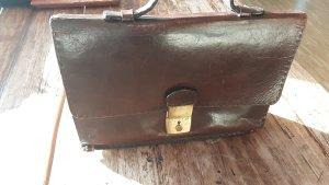 Vintage Rindsledertasche, super für Notebook