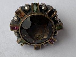 Vintage Anello d'argento argento-bronzo Argento