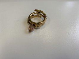 Vintage Ring-Set (2-teilig) von Pilgrim