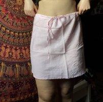 American Vintage High Waist Skirt pink-baby blue