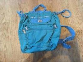 Vintage Sac à dos pour ordinateur portable turquoise
