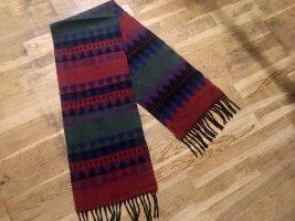 Vintage Schal in schönen Farben, 26 x 137 cm