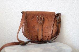 Vintage Schöne Tasche aus echtem Leder