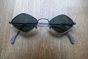 Vintage Sonnenbrille, 90ies, Matrix, silber, grau