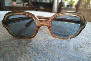 Original Vintage Ovale zonnebril nude-beige