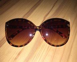 Vintage-Sonnenbrille, Catstyle, Brauntöne