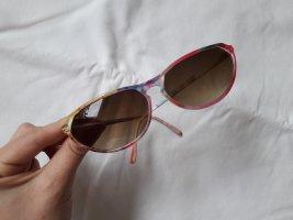 Vintage Sonnenbrille floral bunt