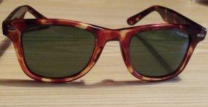 True Vintage Gafas Retro coñac-marrón arena acetato