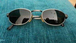 Tee up Owalne okulary przeciwsłoneczne antracyt Metal