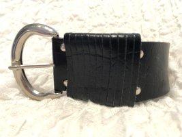 Vintage Taillengürtel in schwarz