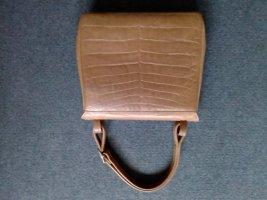 Handbag bronze-colored