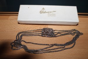 Collier Necklace silver-colored real silver