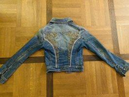 Vintage used look jeans jacket von Patrizia Pepe