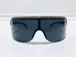 Bikkembergs Angular Shaped Sunglasses yellow-black