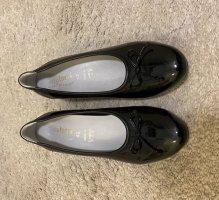 vitaform Zapatos de cuña negro