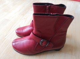 Vitaform Stiefel Boots gefüttert Rot wNEU
