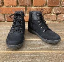 Vitaform Stiefeletten Boots Leder + Lammfell schwarz Gr. 38 H NEU
