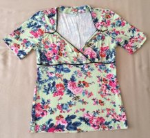 VIve Maria Happy Flower Shirt Wickeloptik Gr. L